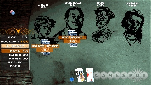 Deathmatch and poker will both be playable over ad hoc Wi-Fi.