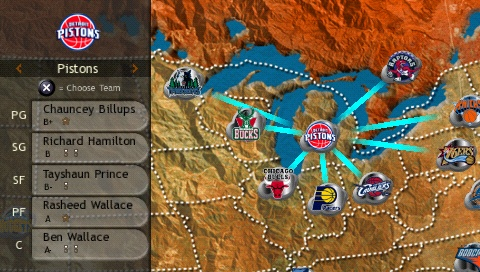 Take over the NBA world in conquest mode.