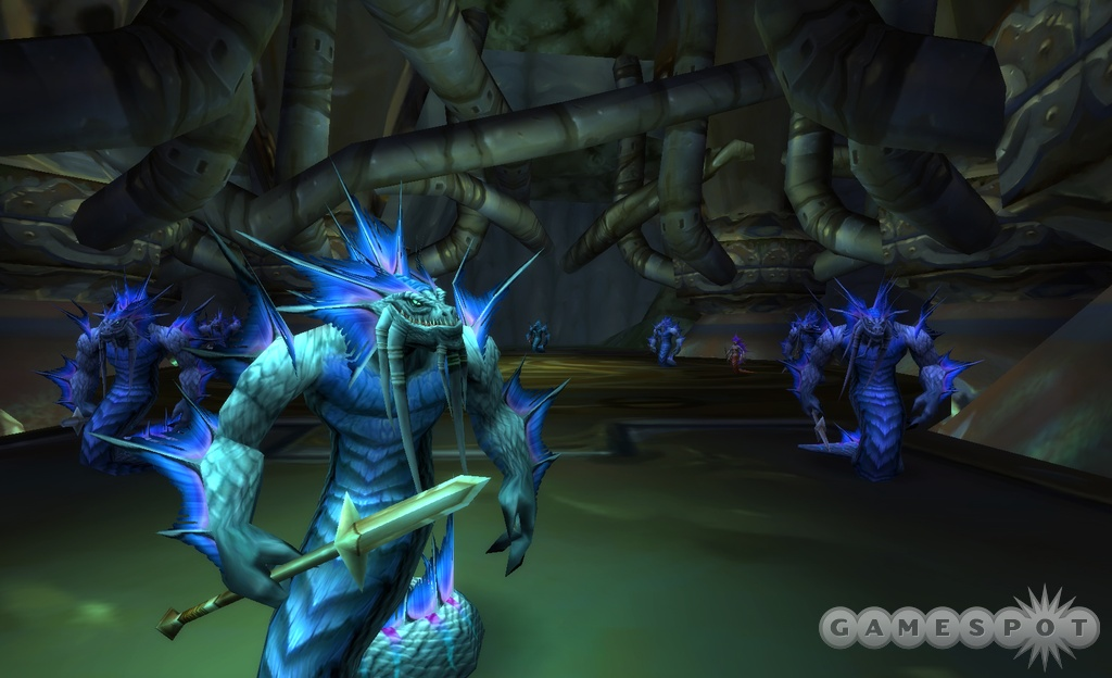 The naga of Coilfang Reservoir will gladly offer new challenges to players eager to explore new dungeons.