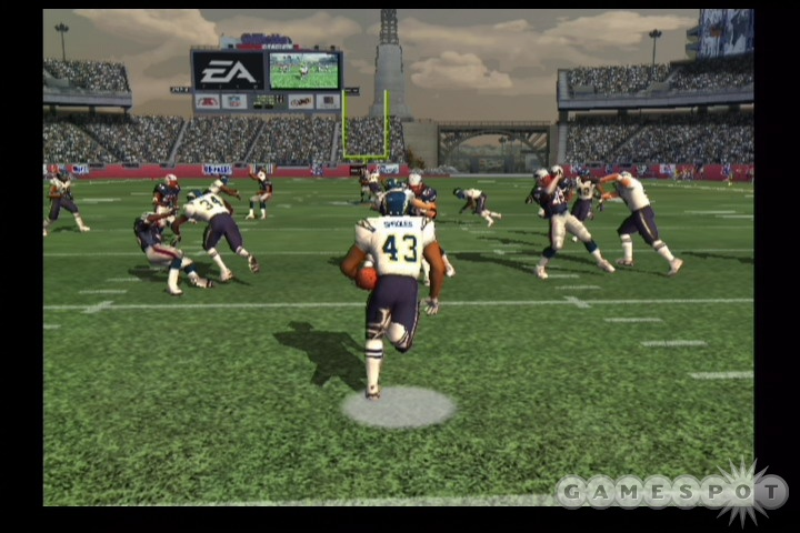 On current generation consoles, Madden's graphics engine is definitely showing its age. It's still a good-looking game, however.