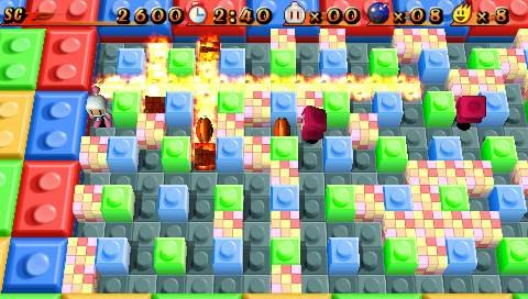 With 100 levels in the story mode, plus an extra 50 levels to unlock, this game delivers all the Bomberman you'll ever need.