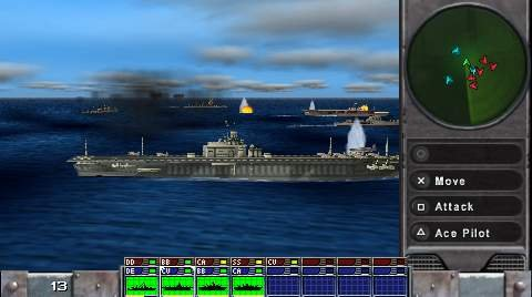 The PSP version doesn't offer enhanced graphics; it offers completed graphics.