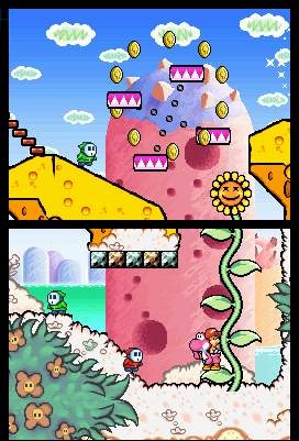 Like its predecessor, Yoshi's Island DS is a fun platformer with a unique crayon-inspired visual style.