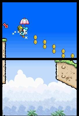 Each of the five babies gives Yoshi new abilities.