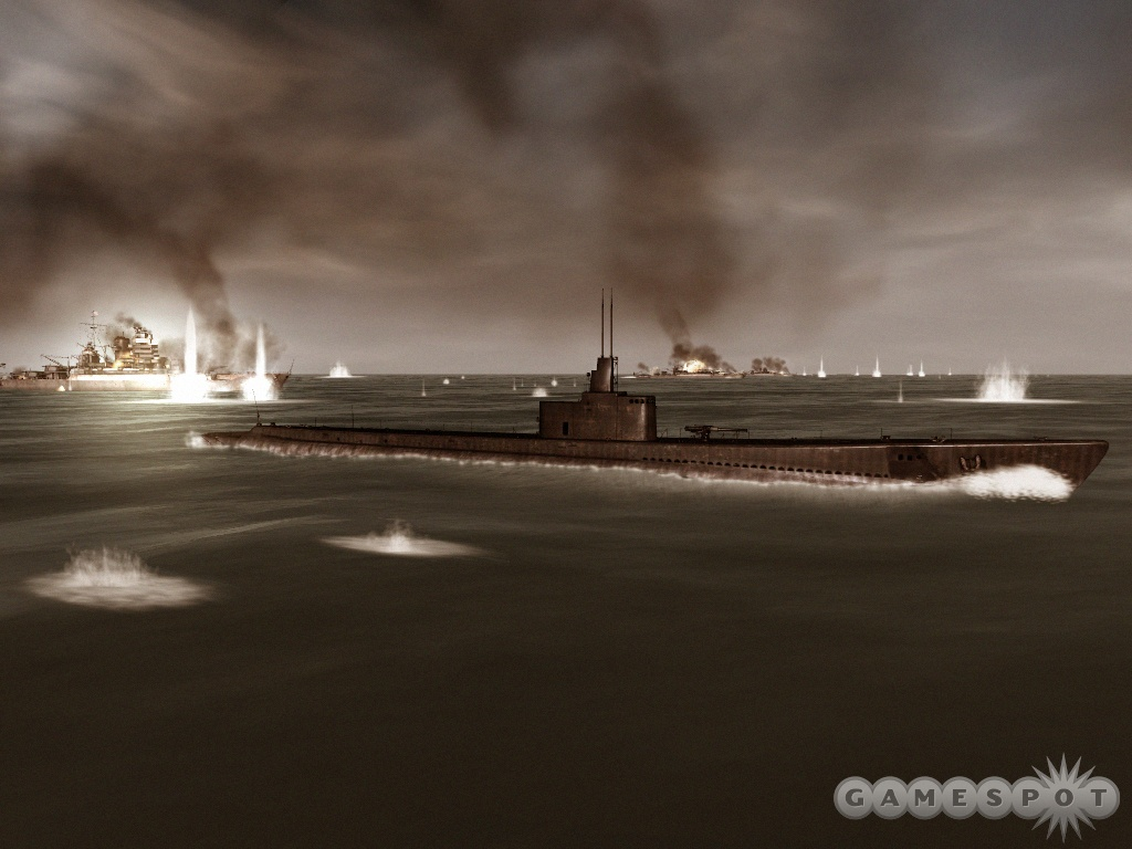 The game will model historical details, like the well-documented issues that US ships had with torpedoes in the early part of the war.