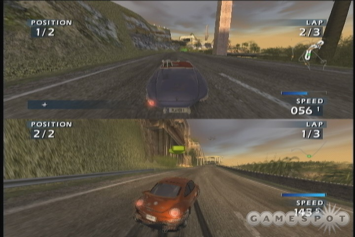 There is no online, or even system link multiplayer in World Racing 2. Just split-screen.