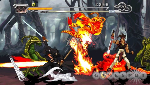You get two games in one with Guilty Gear Judgment, plus about two dozen crazy characters to control.