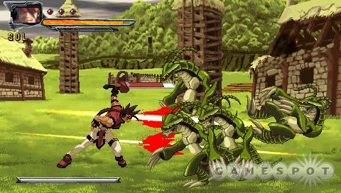 The simplified controls of the side-scrolling beat-'em-up in this package make it easier to dish out lots of wild combos.