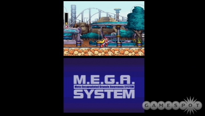 As the name implies, ZX feels like a mix of the Mega Man Zero and the Mega Man X games.