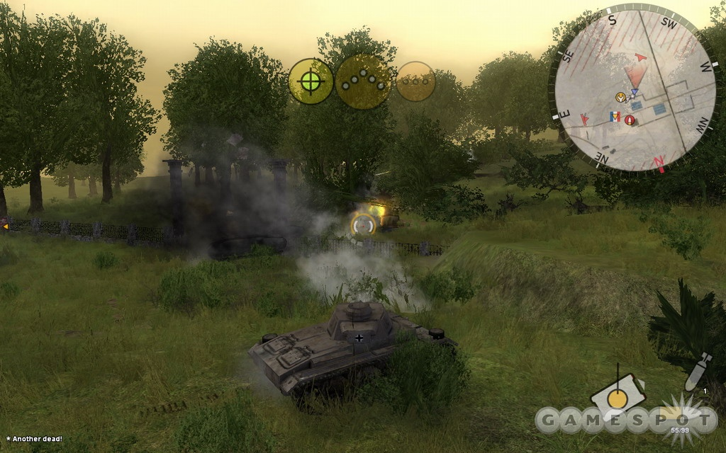 If you're looking for a realistic tank sim you won't find it here, but if you just want to blow stuff up you might be entertained for at least a little while.