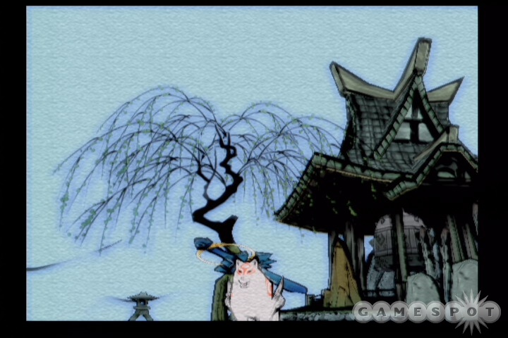 You're no ordinary wolf in Okami, thanks mostly to your ability to paint miracles using the celestial brush.