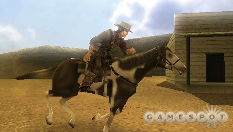 Colton's faithful horse, Rogue, can take out enemies with a well-placed stomp.