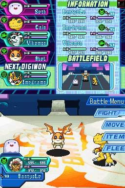 Digimon World DS is one of those games where you collect, raise, and battle hundreds of fictional monsters.