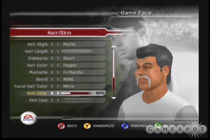 Creating your own golfer is still one of the game's highlights.