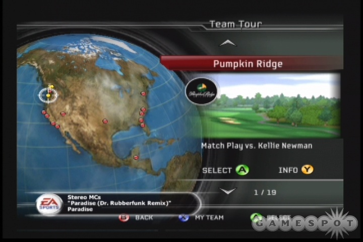 Team tour replaces last year's rivals mode.