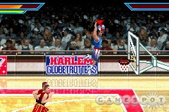 You can pick from 26 actual Globetrotters, but you won't see any of their signature dunks or antics in this game.