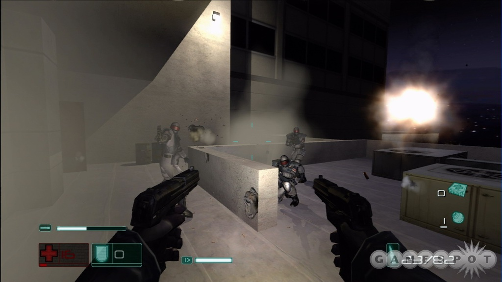 F.E.A.R. was Black before there was Black because bullets can tear up the environment.