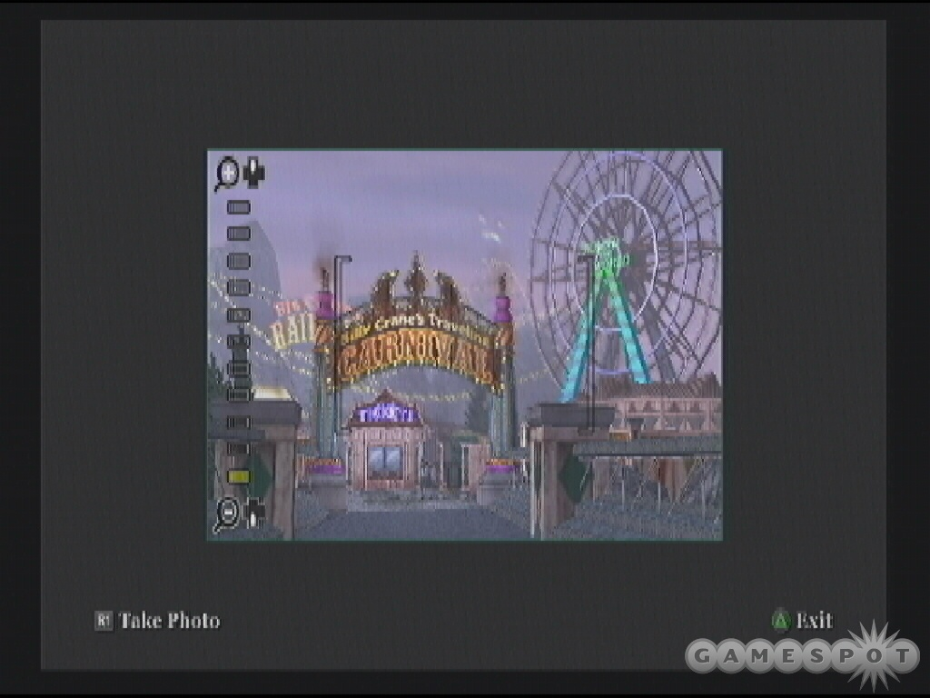 In Photography class you must take pictures of specific locations, such as the Carnival over in Old Bullworth Vale.
