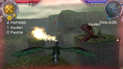 Saphira's flame breath will make short work of enemies on the ground or in the sky.