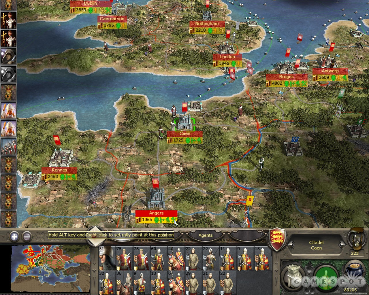 Medieval 2 offers a deep strategic layer that lets you manage the military, economy, and religion of a medieval kingdom.