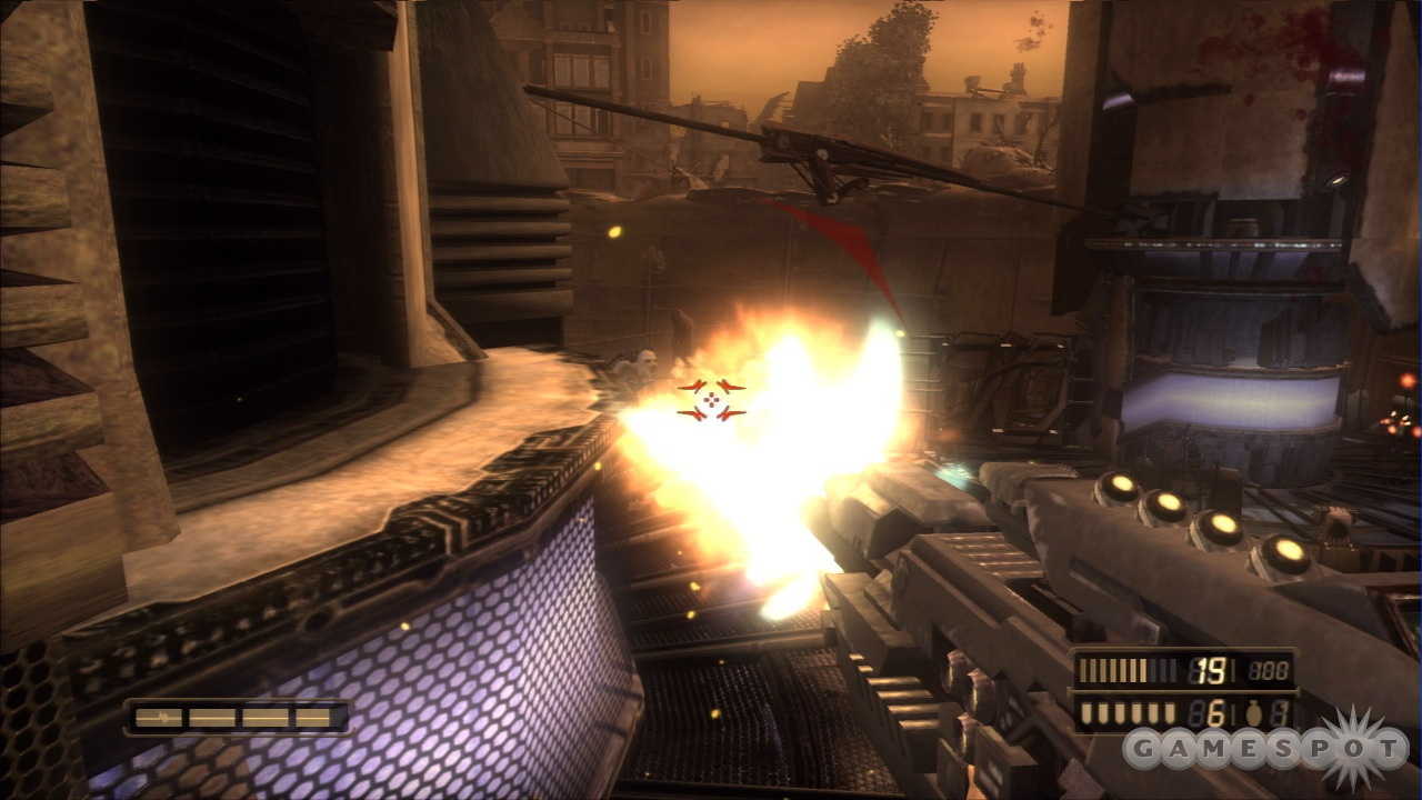 Conventional shooter controls that are matched with some unconventional weapons and unusually good graphics make Resistance feel familiar but distinct.