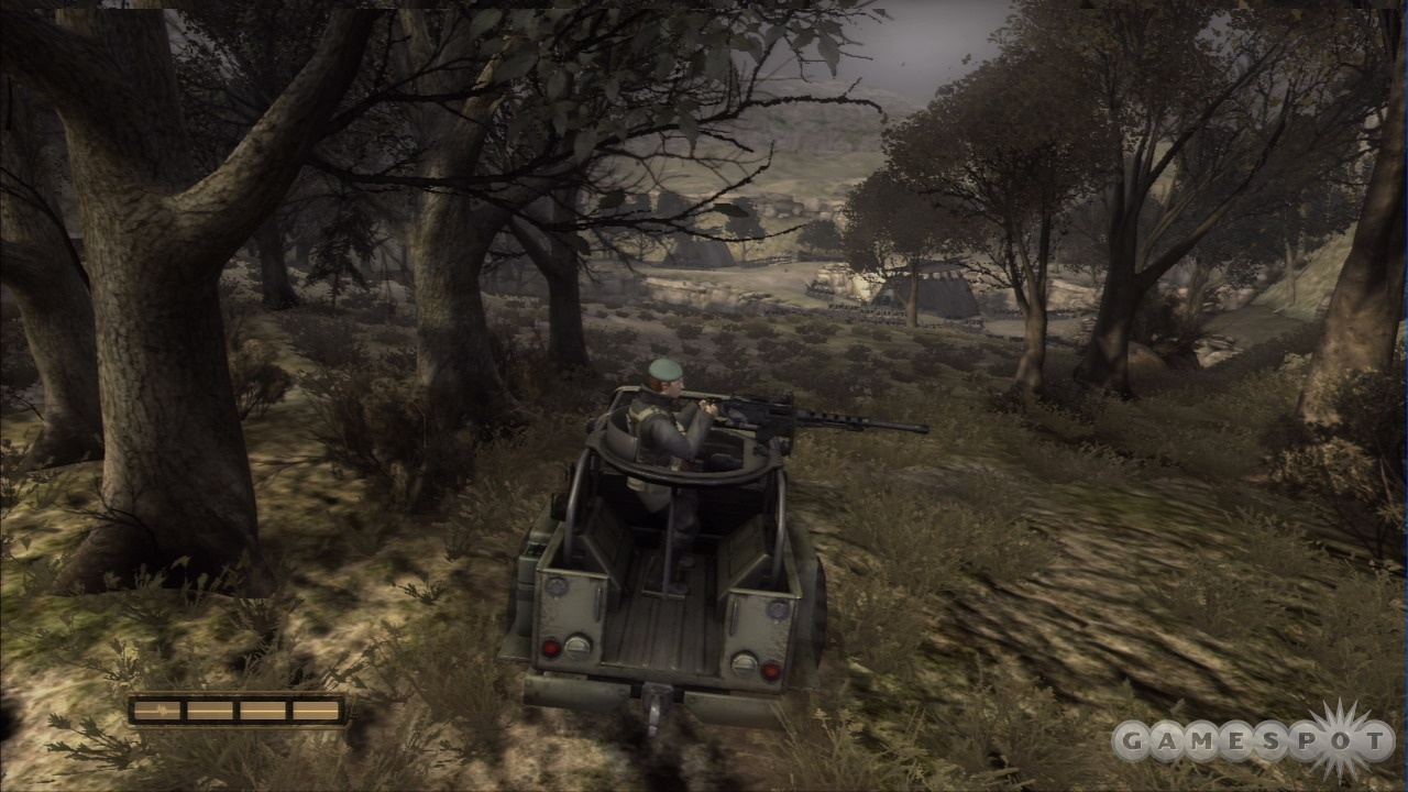 A few vehicle-driving sequences are thrown into the campaign for good measure.