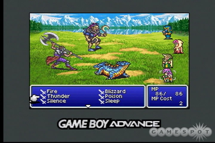 Final Fantasy V lets you freely switch between many character classes, or