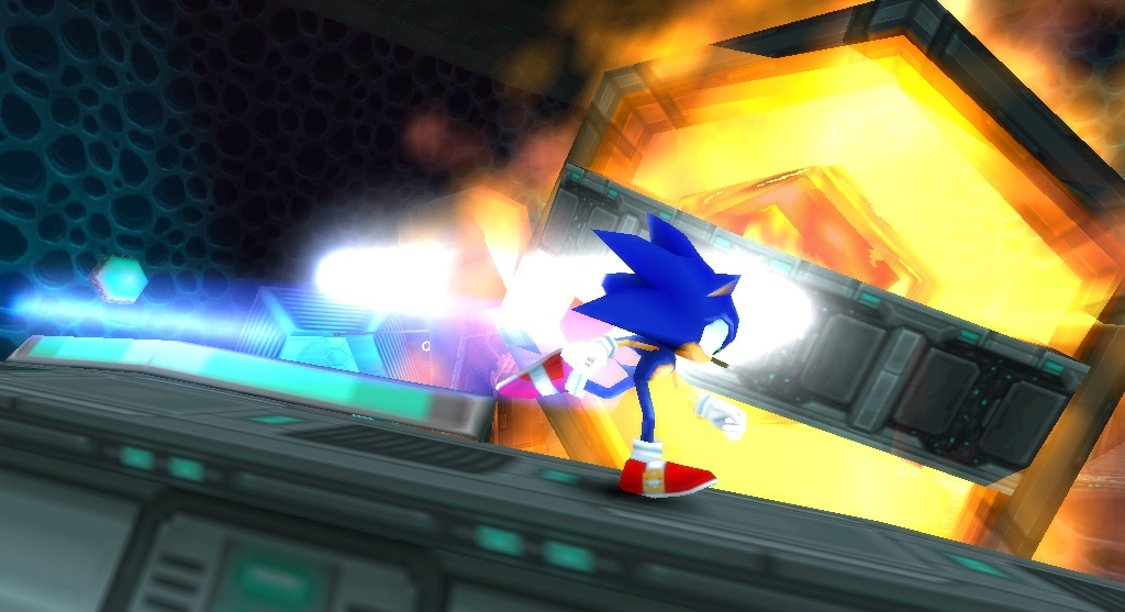 Sonic is back, and thankfully he brought his running legs.