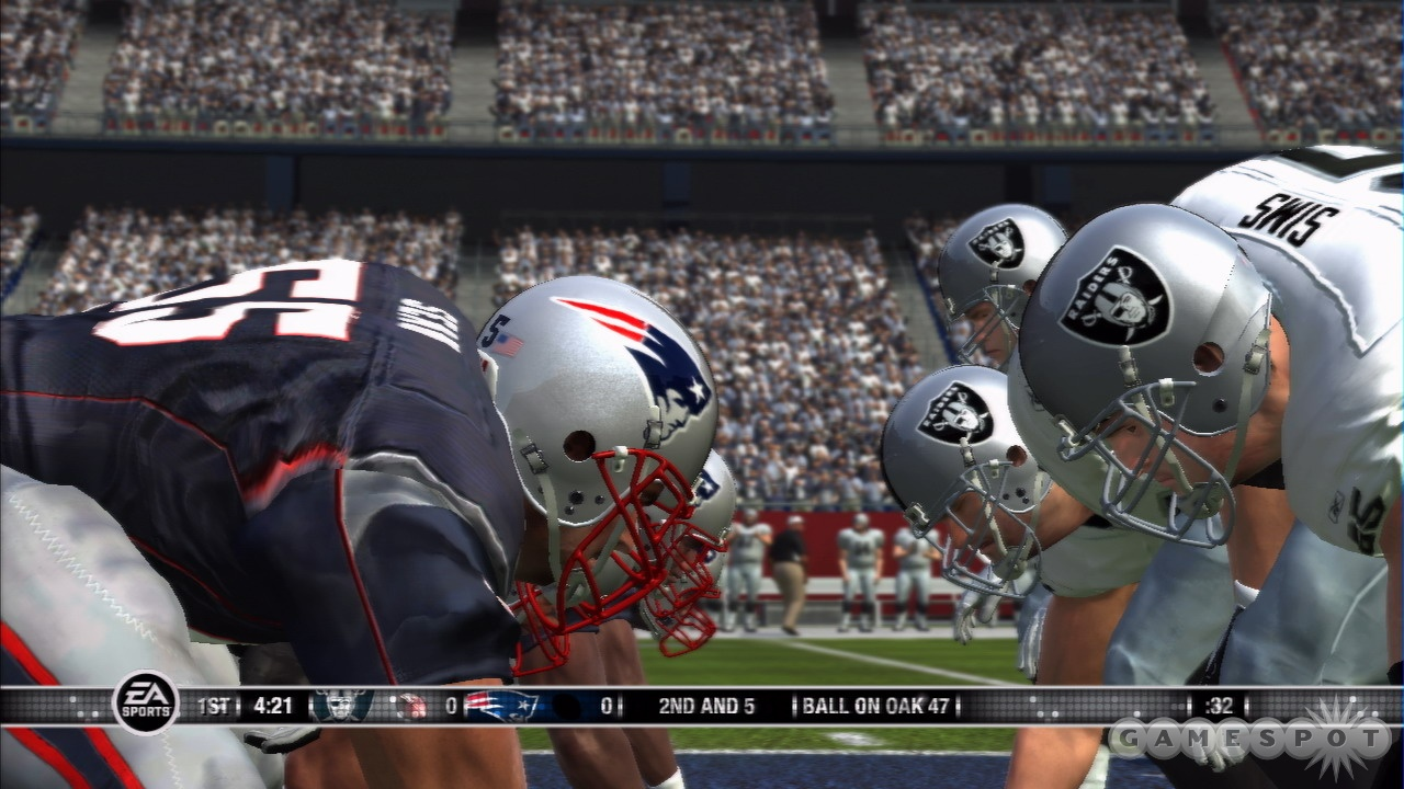 Madden makes its PlayStation 3 debut in Madden NFL 07.