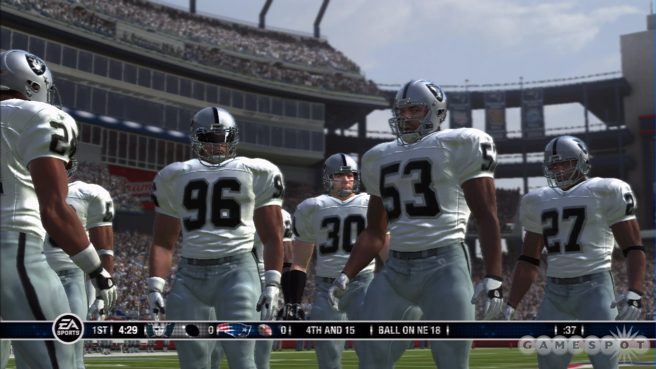 You won't find many graphical differences between the PS3 and Xbox 360 versions of Madden, but it's a great looking game all the same.