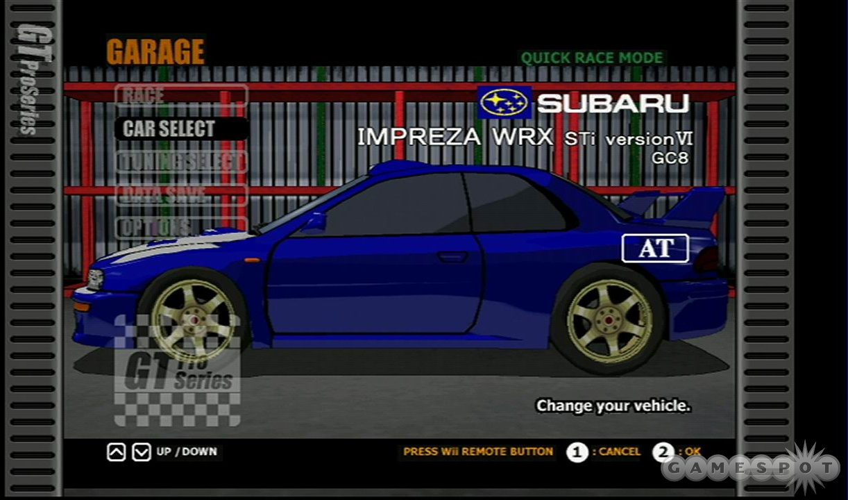 There's a good selection of real-world cars in the game, but they all look pretty bad.