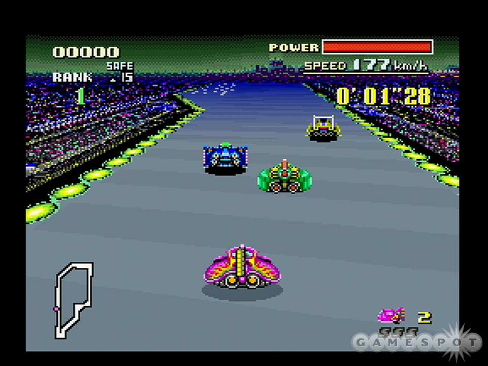 Why can't all racing games be as fun and exciting as F-Zero?