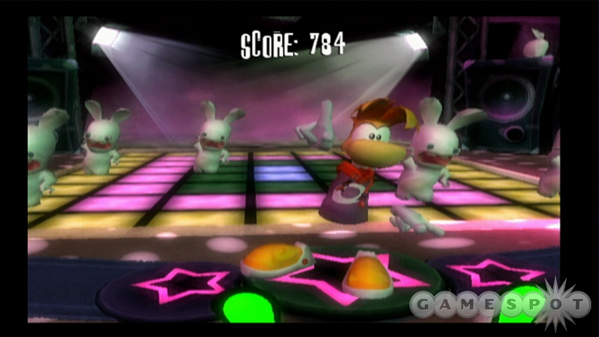 The dancing minigames are some of the best fun you'll have in the game, due in no small part to the totally insane soundtrack.
