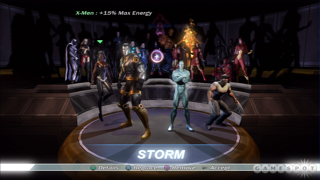 The stars of the world's greatest comics join forces in Marvel: Ultimate Alliance.