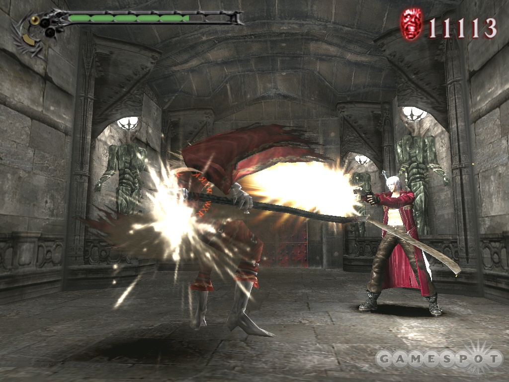 Devil May Cry 3's fast, flashy style and elaborate combo system epitomize the difference between action games on consoles versus PC. So what's this game doing on the PC?