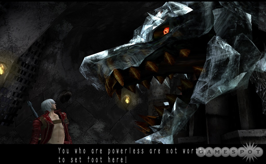 This is the game's first real boss monster, and many, many more follow. Scared yet?