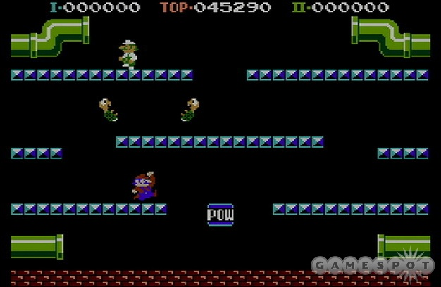 If you're nostalgic for the days of disappointing arcade-to-home translations, Mario Bros. for the NES is your game.