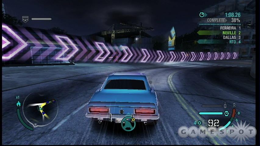 Carbon's controls on the Wii can be novel, but at the cost of overall playability.