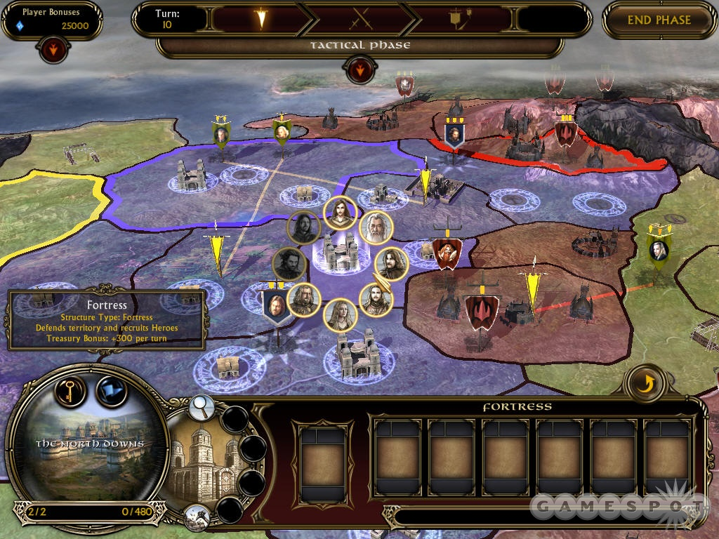 The turn-based strategic layer sports a few improvements, notably the ability to transfer armies from real-time battles to the strategic map.