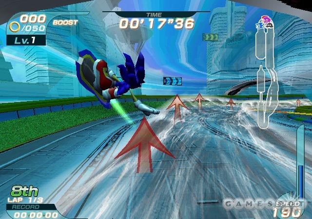 Sonic Riders is far from the worst company mascot character racer you'll ever play, but that doesn't say an awful lot for it.