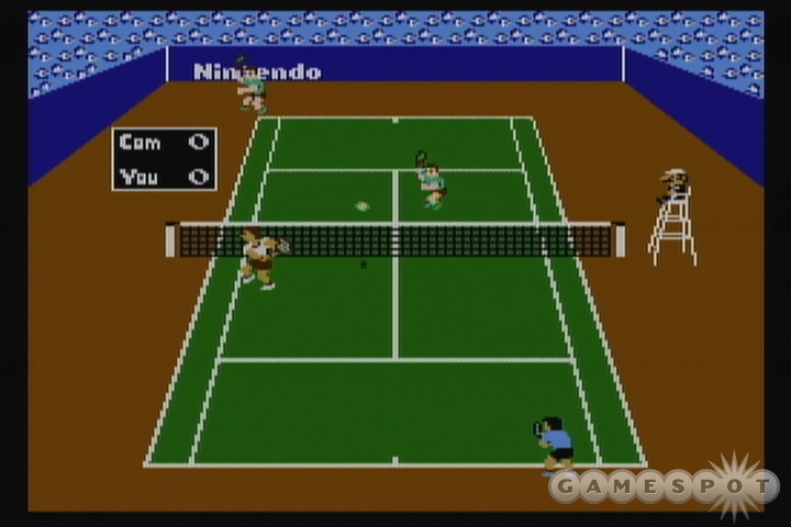 Tennis would have been much better if you could play against a friend.