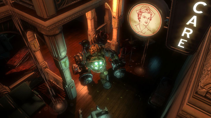 Though BioShock is coming to multiple platforms, the developer showed off the Xbox 360 version, and it wasn't hard to see why. The game looked amazing.