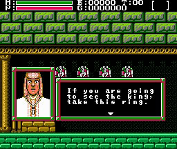 Faxanadu was practically poetic.