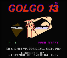 "Golgo 13 was originally supposed to talk, but a glitch in the programming caused all of his lines to be replaced with ""...."""
