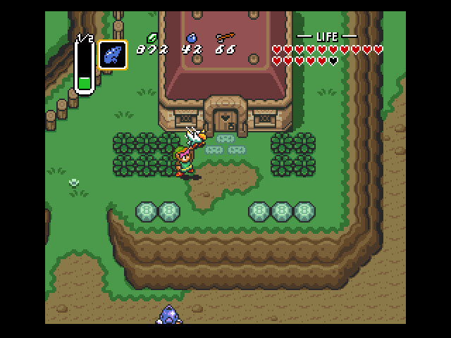 Musical instruments played a much more important role in subsequent Zelda games, but the flute debuted in A Link to the Past, making travel quick and easy.