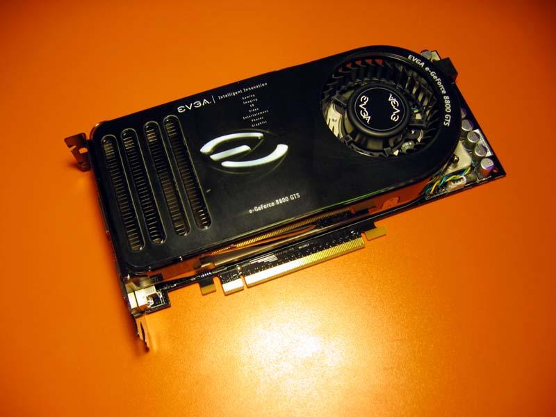 EVGA e-GeForce 8800 GTS 640MB retail card.