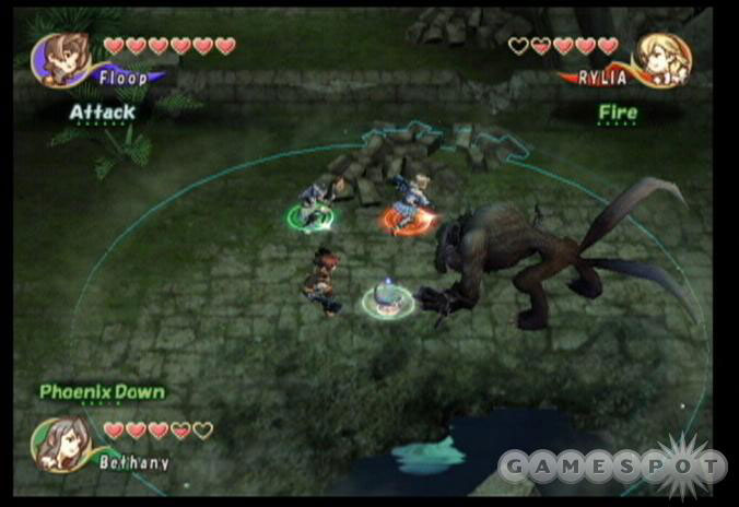 Crystal Chronicles is only for the truest Final Fantasy fans.