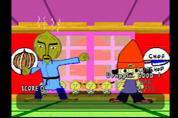 The next time you need to impress someone, consider learning karate from an onion-headed sensei-rapper.
