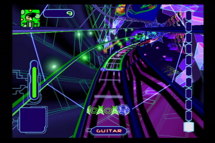 Yet another take on rock-rhythm games.