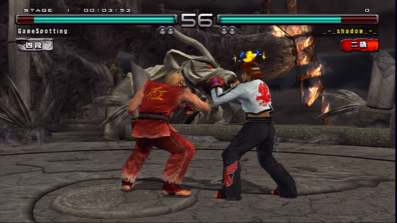 While it may not have the depth and variety of most console Tekken games, the fighting works just fine.